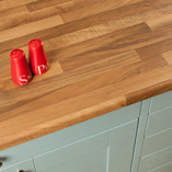 These walnut effect work surfaces are easy to maintain, yet look similar to natural walnut timber worktops.