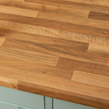 Choose our walnut laminate worktops for an affordable choice for either traditional or modern kitchens.