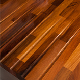 Walnut timber has a deep and rich colour variation that matures over time.