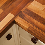 Walnut worktops are one of our most popular choices, and it's easy to see why.