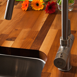 Consider our bespoke worktop services on stunning solid walnut surfaces.