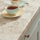 Our white granite laminate worktops - also known as