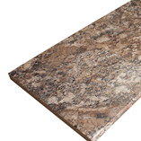 Winter Carnival granite laminate worktops come in a range of sizes up to 3.6m in length, and 900mm wide.