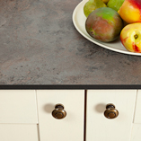 Zenith worktops look particularly good in contemporary styles - such as industrial kitchen designs.