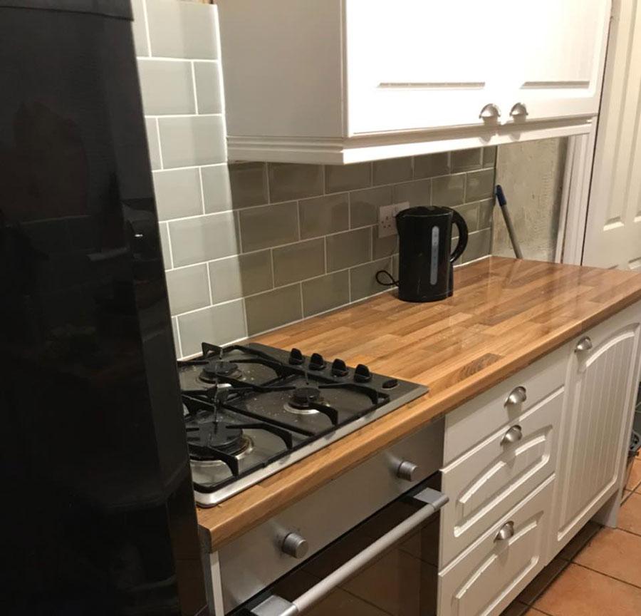 Kitchen Worktops Express: Walnut Block Laminate Worktops Gallery