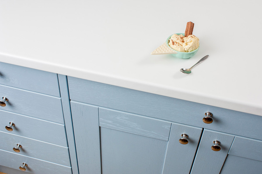 White Laminate Worktops Gallery Worktop Express