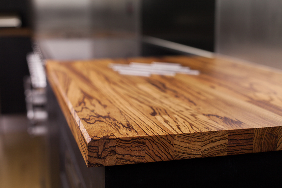 Zebrano Worktop Gallery