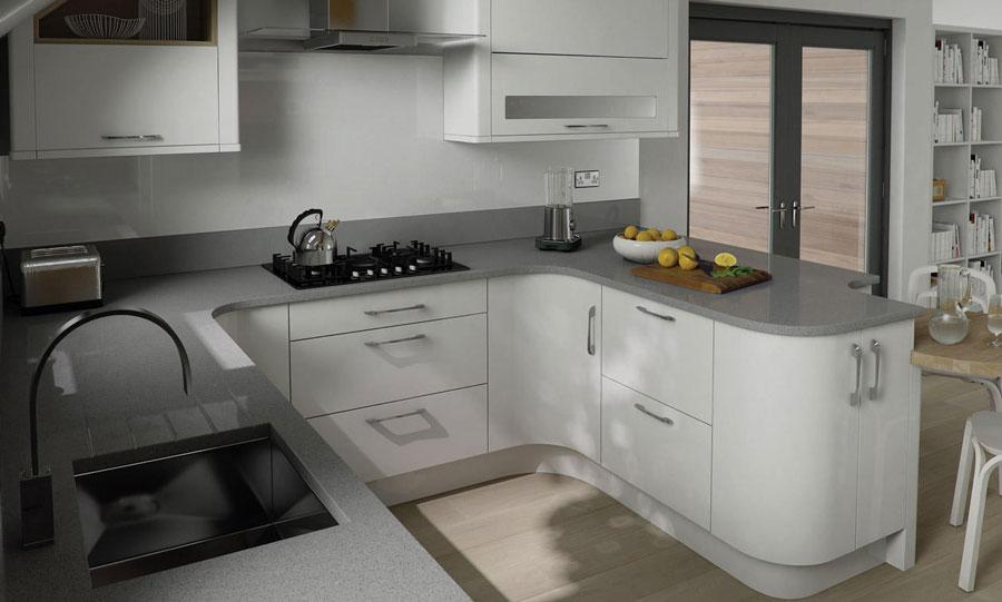 Alternative To White Kitchen Cabinets