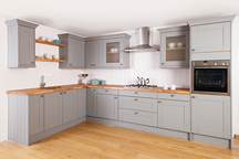 Earl Grey Kitchen - Gloucester Worktop Showroom