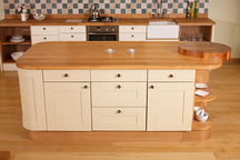 Full Stave Island - Gloucester Worktop Showroom