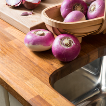 Welcome to our Harlow Wood Kitchen Counters Showroom
