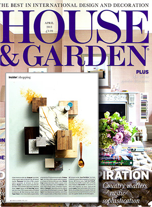 House and Garden April 13