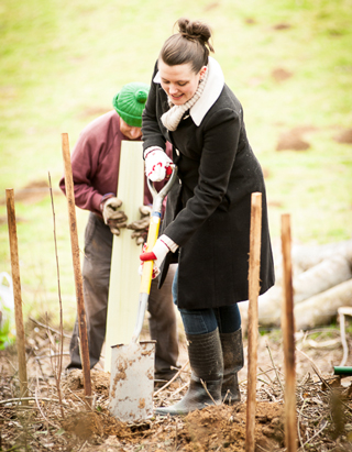 Tree Planting With the International Tree Foundation