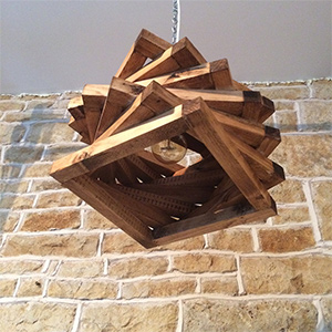 Spiral Sapin Pendant Lamp from Unique Lighting Co.