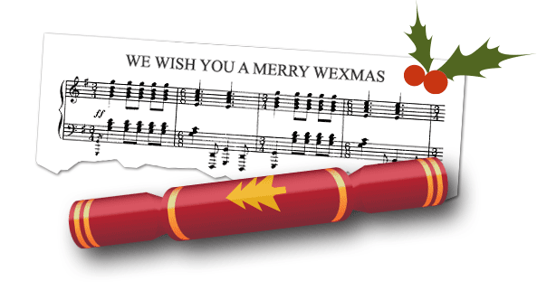 We Wish You A Merry WEXmas