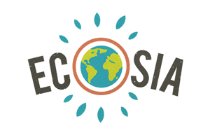Ecosia is a search engine that uses its advert revenue to plant trees.