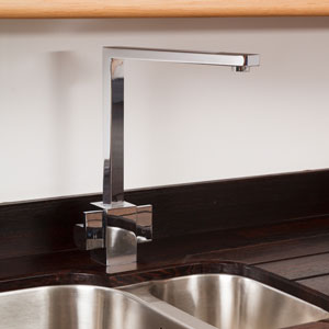 New taps are one of the easier kitchen upgrade that can add a modern touch to any sink.