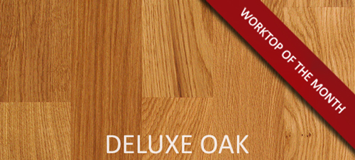 Deluxe Oak - November's Worktop of the month