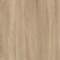 These oak bathroom laminate worktops offer a realistic wood-effect finish