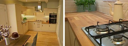 Oak Kitchen Worktops to the Rescue, DIY-Style!