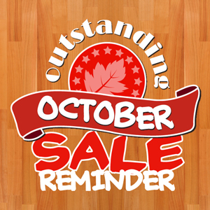 Last Chance to Save 10% on Replacement Tops in our 'Outstanding October' Sale