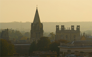 Panorama view of Oxford