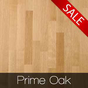 Elegant Prime Oak kitchen worktops are reduced - for one month only!