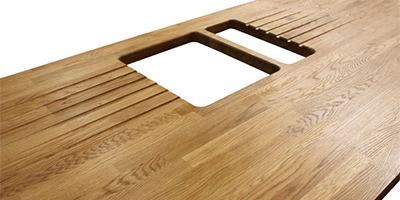 Using Extra Wide Wooden Countertops For Kitchen Islands Worktop Express Information Guides