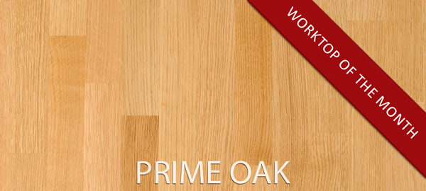 Make an impact in your kitchen with impressive Prime Oak worktops.