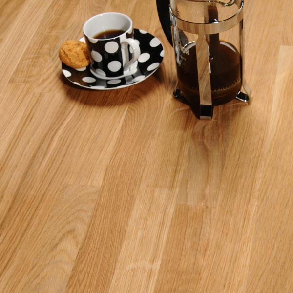 Kitchen Worktops Express: Oak 3M X 620 X 27mm Wooden Worktop