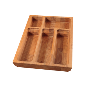 Solid Beech Cutlery Drawer Inserts