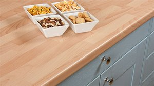 Beech Block Laminate Worktops Gallery