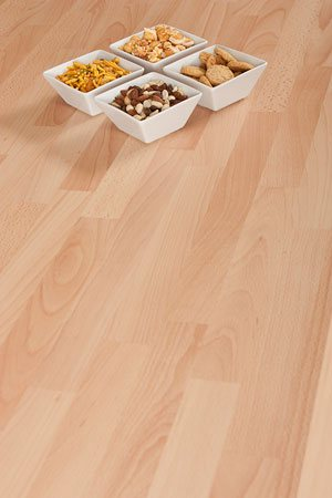 Beech laminate worktops