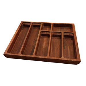 Solid American Walnut Cutlery Drawer Inserts