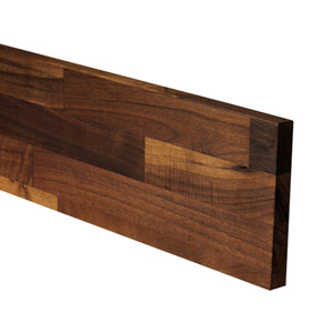 Black American Walnut Plinth 3M X 150 X 20mm
