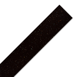 Black Sparkle Worktop Edging Strip - Andromeda - 1530mm x 45mm