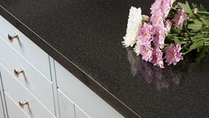 Black Gloss (Constellation) Laminate Worktop Gallery