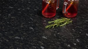 Black Granite Laminate Worktops - Nimbus Gallery