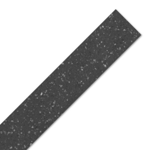Black Star Earthstone Worktop Edging Strip - 980mm x 38mm x 6mm