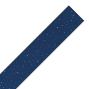 Blue Sparkle Laminate Worktop Edging Strip - Andromeda - 1530mm x 45mm