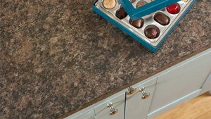 Brown Granite Laminate Worktops (Bella Noche) Gallery