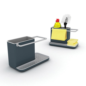 Joseph Joseph Caddy Sink Organiser - Dark Grey & Grey (Regular)