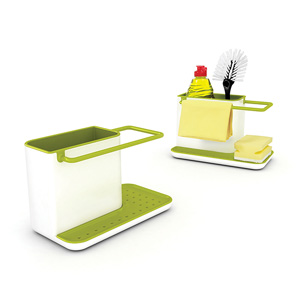 Joseph Joseph Caddy Sink Organiser - White & Green (Regular)