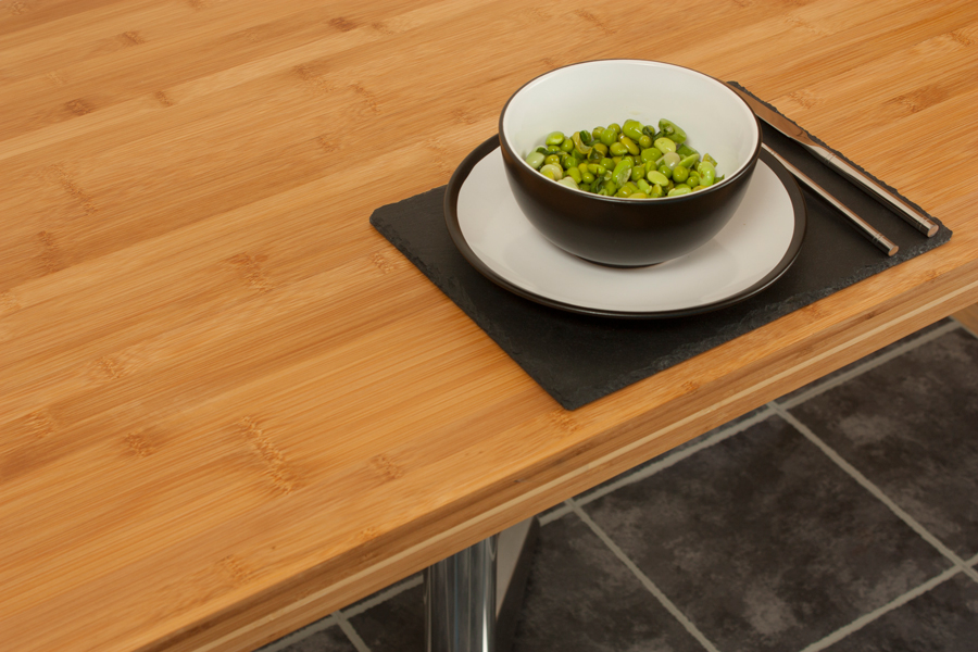 Caramel Bamboo Replacement Table Tops Are Made From Highly Sustainable,  Hard Wearing Bamboo