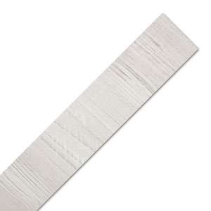 Cascina Pine - White Wood Laminate Worktop Edging Strip - 1530mm x 45mm