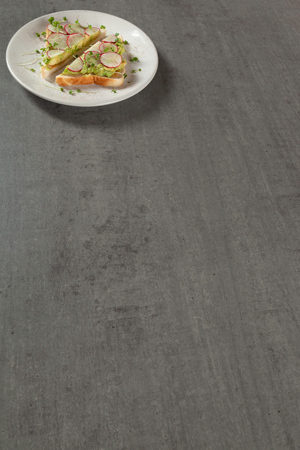 Concrete solid laminate worktops