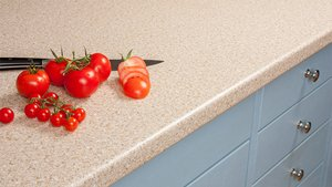 Cream Laminate Worktops - Taurus Beige Gallery