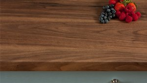 Dark Walnut Laminate Worktops (Romantic) Gallery