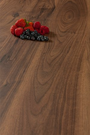 Dark Walnut Wilsonart Worktop Upstand - Romantic - 3m x 95mm x 12mm