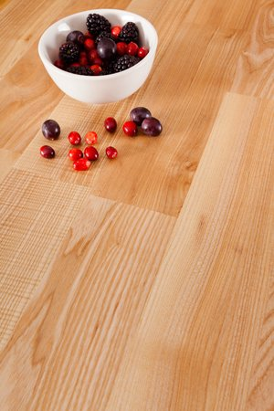 Deluxe Ash Worktop 90mm Stave 2M X 620 X 40mm